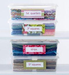 Smart Ways to Store Fabric   AllPeopleQuilt.com