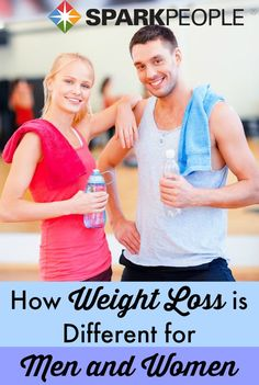 Why men and different lose weight differently   via @SparkPeople #fitness #diet #gender