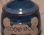 Good Dog Treat Jar container canister treats