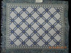 Tennessee Waltz by Eunice Higgins.  Hand quilted.