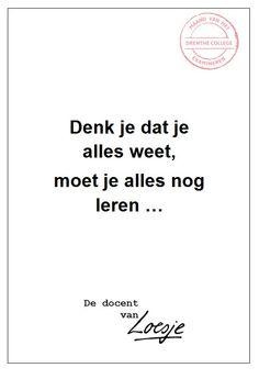 Alles weten - Onno Koornstra - Drenthe College