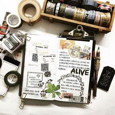 I'm hard-pressed for time!TAT! #midori #travelersnotebook #planner #journal #mtn #diary #planneraddict #washitape #washiaddict #journals #midoritravelersnotebook #washitapes #手帳 #和紙膠帶 #手帐
