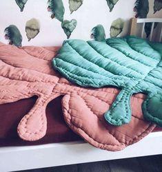 Простые идеи для дома: текстильные листья как пледы и ковры - Ярмарка Мастеров - ручная работа, handmade