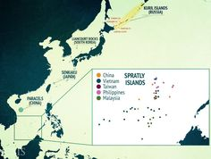 Five different countries control some land features in the Spratly Islands, while just one state controls the Kuril Islands, Liancourt Rocks, Senkaku Islands, and Paracel Islands.  Read more: http://www.businessinsider.com/japan-gave-china-another-warning-over-the-south-china-sea-2015-5#ixzz3btxkOKFvFive different countries control some land features in the Spratly Islands, while just one state controls the Kuril Islands, Liancourt Rocks, Senkaku Islands, and Paracel Islands…
