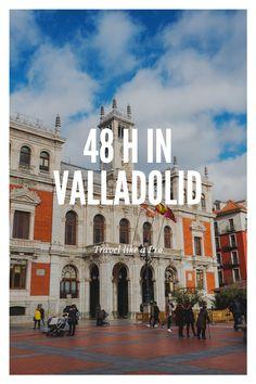 Irgendwie überall dazwischen und deshalb immer mittendrin – das ist die nordspanische Stadt Villadolid Notre Dame, Building, Travel, Spanish, City, Viajes, Buildings, Destinations, Traveling