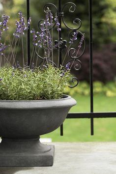 KAROL flower pot with FLORA decoration lavender. Lene Bjerre, spring 2014