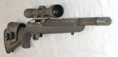 Ruger 10/22 Hogue Stock Bull Barrel camo