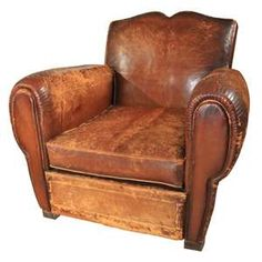 Beautiful french tobacco chair~
