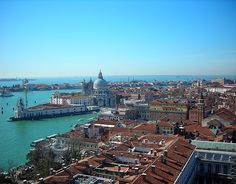 View from the Campanile, Venice