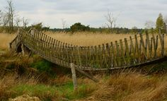 Hangbrug over de Dommel (natuurgebied De Plateaux) #plateaux #brug #bridge #dommel #Hageven