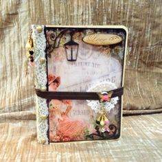 "Heart of a Gipssy: ""Vintage ""Petticoat"" File Folder Photo Tall Album DT Project"" Hello friends just sharing with all of you my DT project fo..."