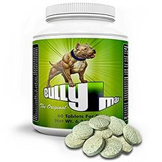 Amazon.com : Bully Max Muscle Builder, 60 Tablets : Pet Supplies