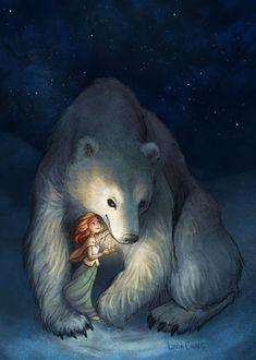 Вдохновляющие Личности, Рисунки С Персонажами, Сказочное Искусство, Изображения Медведей, Причудливое Искусство, Татуировки Медведя, Оборотни, Фэнтезийные Иллюстрации, Феи