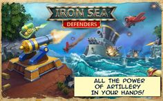 Mac App Iron Sea Defenders TD | Games | Strategy |  | 9  | $0.99 NOW FREE | Man the guns! The enemy fleet is on the horizon! Take a part in the real sea battle! Defend your fort from attacks – show
