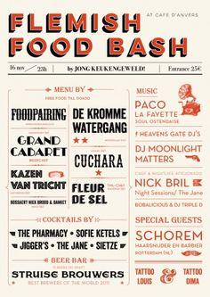 45ac67ac6b Eventbrite - Jong Keukengeweld presents Flemish Food Bash - Sunday,  November 2014