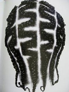 Zigzag pattern.