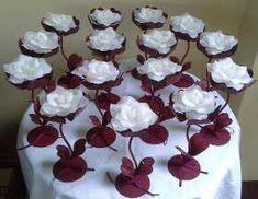 15 Portavelas Con Rosa. Ceremonia De Velas.fiesta De 15. - $ 2.400,00