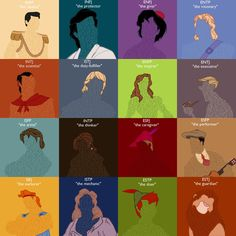 Myers Briggs Disney Princes and Heroes by LittleMsArtsy on deviantART Aladdin? I kinda can see that