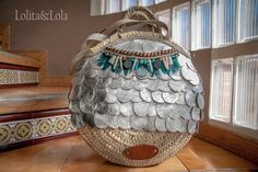 capazo straw beach bag boho chic gypsy fashion moda indie strawhandbag