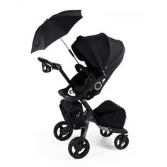 Stokke Xplory Stroller, Limited Edition True Black
