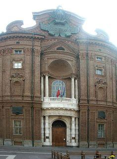 Palazzo Carignano Guarino Guarini 1679-1684