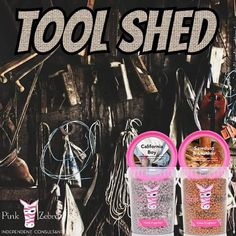 Tool Shed Recipe - (California Boy and Sawdust & Leather Sprinkle Scents) Sprinkles Recipe, Pink Zebra Home, Pink Zebra Sprinkles, Tool Sheds, Smell Good, Scentsy, Fragrance, Christmas Decorations, Leather