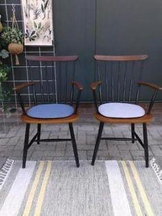 Tapiovaara spijlenstoelen Pastoe Vintage spijlenstoel stoel