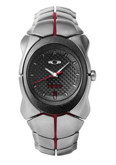 Oakley Elite Time Bomb II watch $2750 in case you still don't know what to get me for my Bday