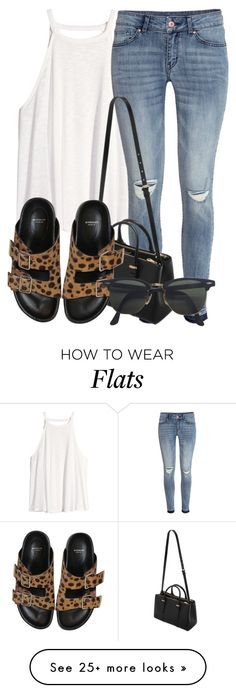"""""""got spots?¿"""" by a-simone143 on Polyvore featuring H&M, Mulberry, Givenchy and Ray-Ban"""