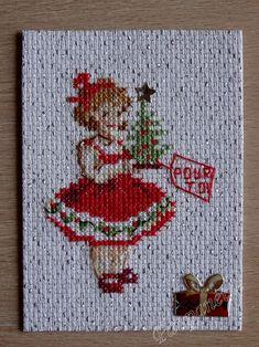 Pour toi Xmas, Crochet, Handmade, Scrappy Quilts, Punto De Cruz, Dots, Needlepoint, Embroidery, Hand Made