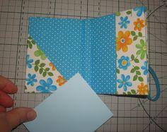 Miolo de papel: passo a passo: bloco de notas cartapesta y