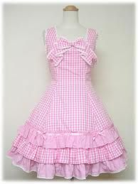 gingham ruffles like this for curtains or bedskirt