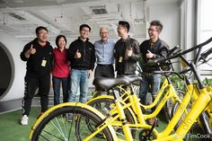 Tim Cook visits $1 billion Chinese bike-sharing startup  #Asia #Beijing #bicycles #bikesharing #bikes #China #DidiChuxing #fitness #Keep #Ofo #Swift #Swiftplaygrounds #Tagged:AppleStore #TimCook #Uber #Weibo #news