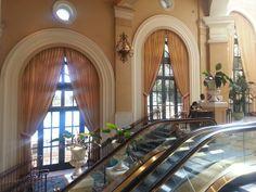 Inside hotel Bellagio in Las Vegas, Nevada