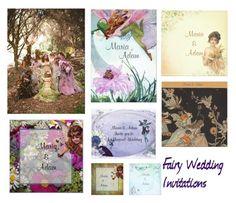 """Fairy Wedding Invitations"" by weddingdesignchic-com ❤ liked on Polyvore featuring women's clothing, women, female, woman, misses, juniors, wedding, fairy, invitations and fairywedding"