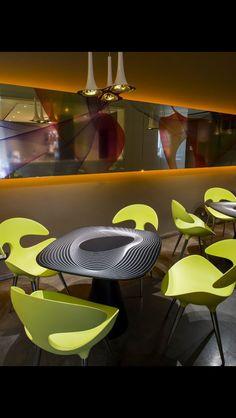 Restaurant designed by Karim Rashid