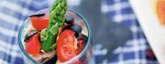 Bicchierini con tonno, pomodoro ed olive nere | Marzo 2014