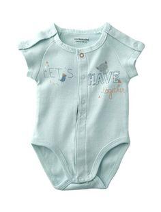 Organic Collection Newborn Baby Bodysuit, Baby 0-36 months | Vertbaudet £7