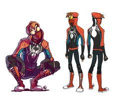 Spider-Man re-design - Rosy Higgins