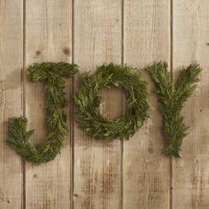 Joy to the World Cedar Sign - VivaTerra