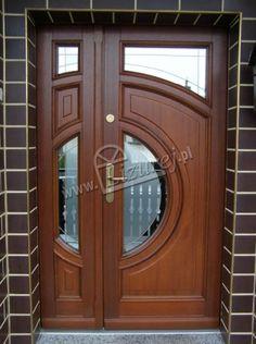 Home Door Design, Door Gate Design, Door Design Interior, Wooden Door Design, House Design, Modern Wooden House, Modern Wooden Doors, Wooden Front Doors, Main Entrance Door Design