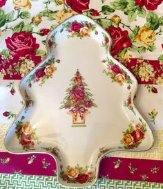 LARGE Royal Albert Old Country Roses Holiday by TheDrippingTap