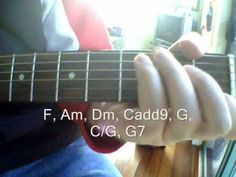 John Lennon - Imagine - How to Play it on Acoustic Guitar - Easy Beginner Guitar Lessons - YouTube