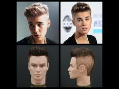 Men's Haircut Tutorial - 2014 Hottest Trend - YouTube