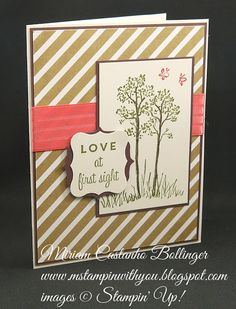 Miriam Castanho-Bollinger, stampin up, demonstrator, mm… Dancing Eyes, The Perfect Touch, Love At First Sight, Mothers Love, Love Cards, Anniversary Cards, Friends In Love, Just Love, Thinking Of You
