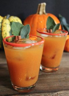 Spiced Pumpkin Punch: http://www.stylemepretty.com/living/2015/09/21/35-pumpkin-recipes-full-of-sugar-spice-everything-nice/