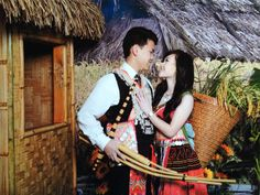 Hmong Couple Pose