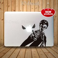 Macbook Decal Pro/Air Sticker Handmade Skin Partial by 57Decal, $9.99