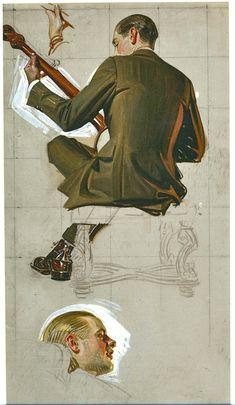 J.C. Leyendecker sketches