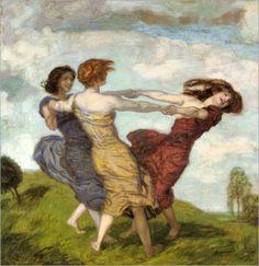 Spring Dance - Franz von Stuck-1912